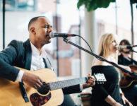 musicians singing