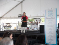 demo on culinary stage