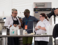 euphoria insider interviewing chef