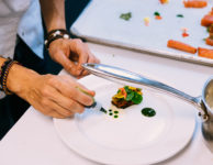 dominique plating michelin food crop